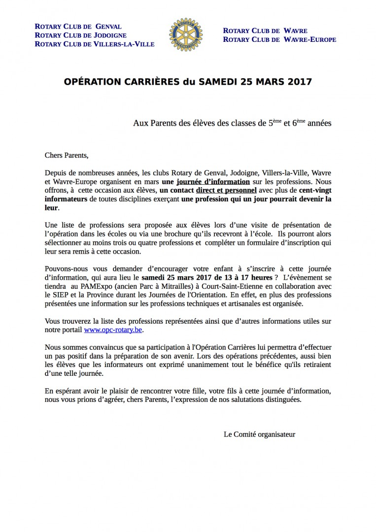 Lettre_aux_parents_operation_carriere_rotary_2017